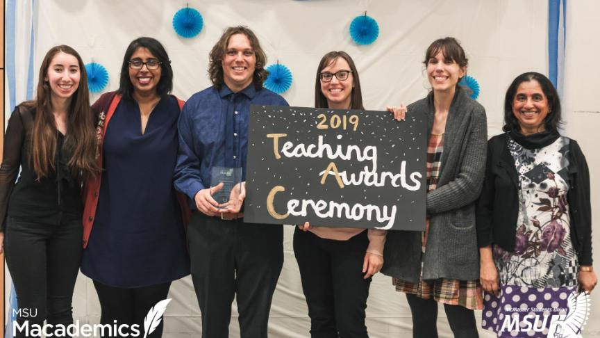 MSU celebrates teaching excellence with 2019 Teaching Awards