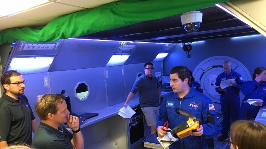 McMaster engineer works with NASA to develop medical emergency simulator