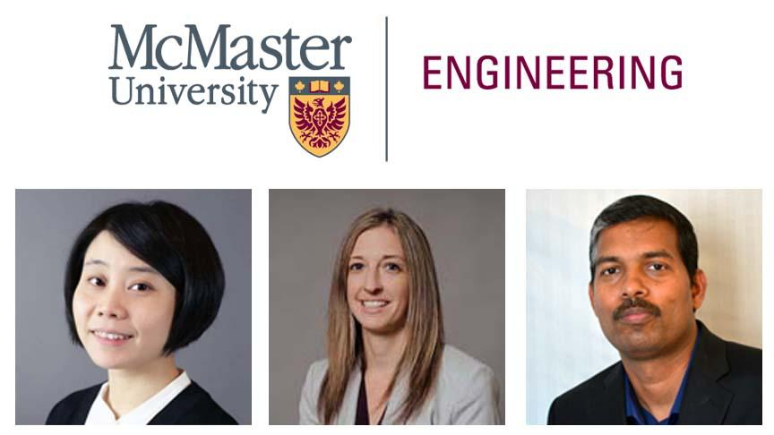 McMaster Engineering announces new faculty and post-doctoral fellow appointments - Fall 2019