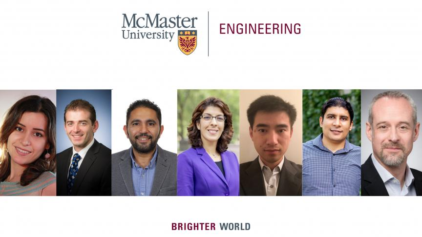 McMaster Engineering announces summer 2019 faculty apppointments