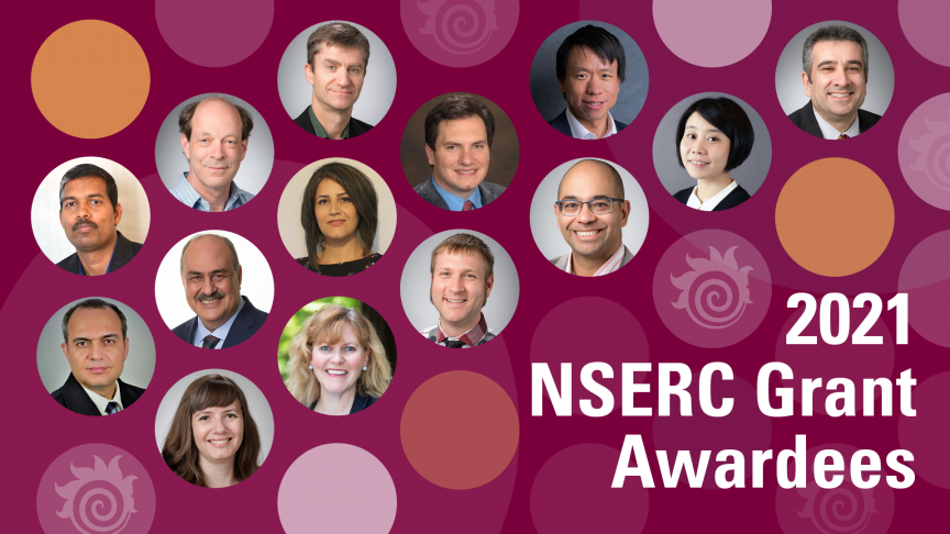NSERC awards 14 McMaster Engineering researchers