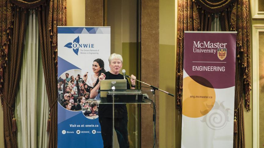 ONWiE Summit receives advice, inspiration from Maria Klawe