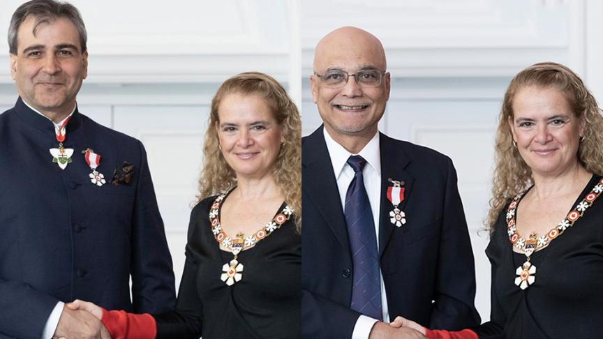 Engineering distinguished university professor recognized as a Member of the Order of Canada