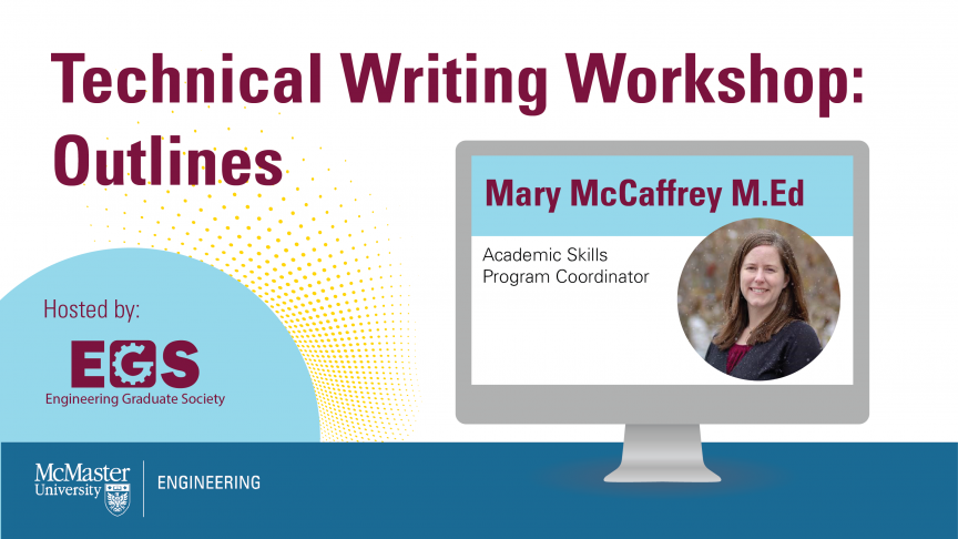 Writing Workshop hosted by the Engineering Graduate Society