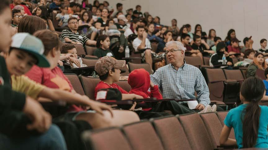 Students get glimpse of university life at Indigenous Youth STEM Conference