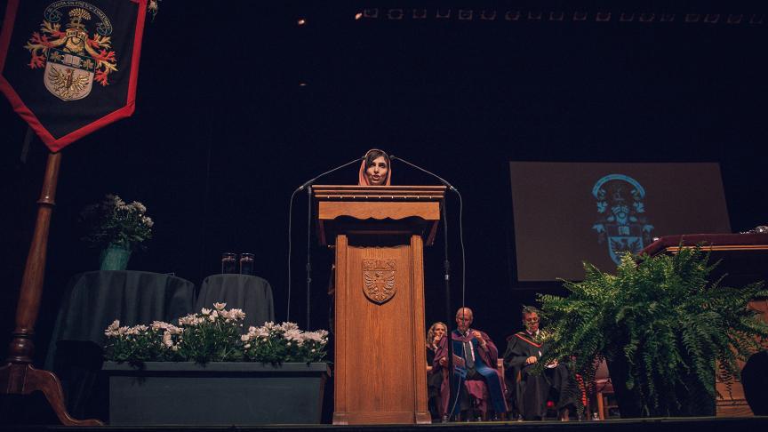 Speech: Honorary Degree Recipient Roya Mahboob