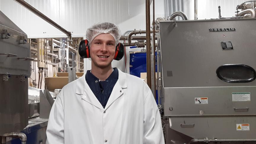Manufacturing Engineering grad shares how he narrowed down his path to a career he loves