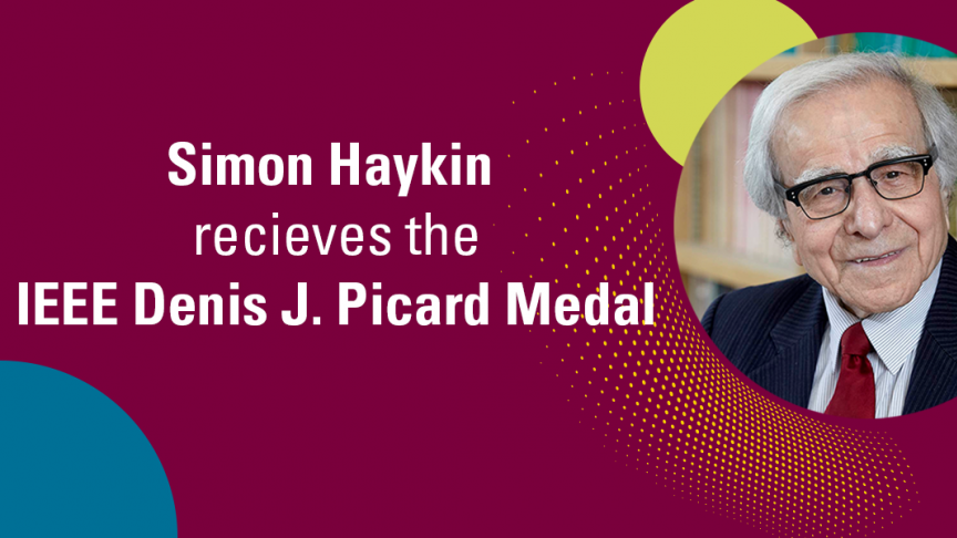 Simon Haykin receives IEEE medal for advancing radar technologies