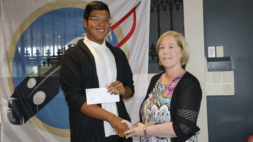 Wikwemikong High School Grad. Wins Engineering Award