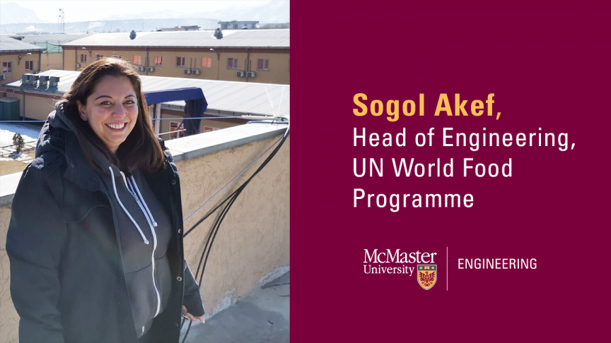 McMaster alumna leads engineers at Nobel Peace Prize-winning organization to combat world hunger