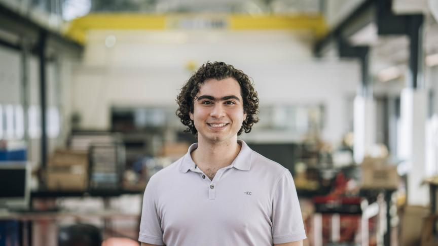 Jamal Habash, Computer Engineering & Society and ADAS Team Member for EcoCAR 3