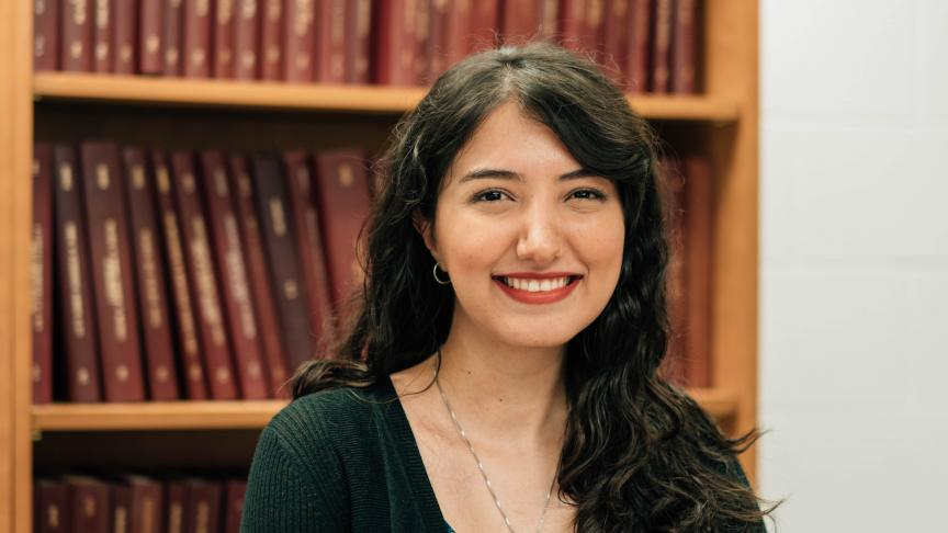 Shooka Mahboubi, PhD Materials Science and Engineering student