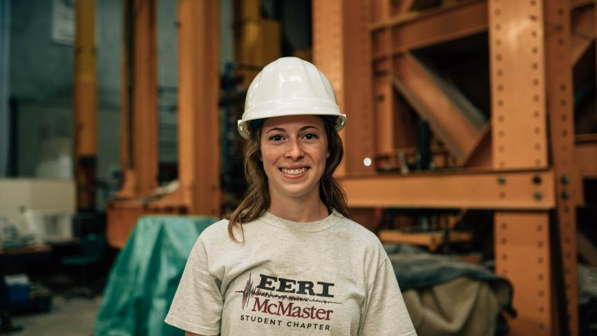 Bryanna Noade, MASc Civil Engineering student