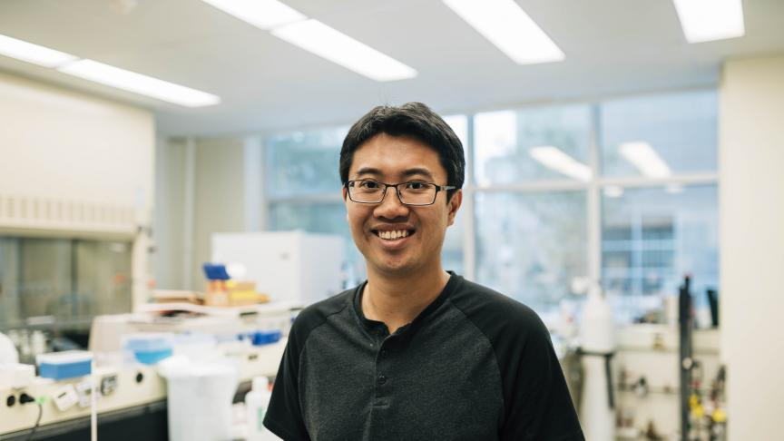 Vincent Leung, PhD Chemical Engineering student