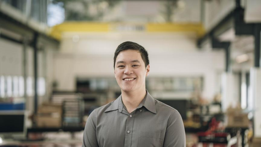 Aedan Malig, Mechanical Engineering & Management and Suspension Sub-team Captain for McMaster Solar Car