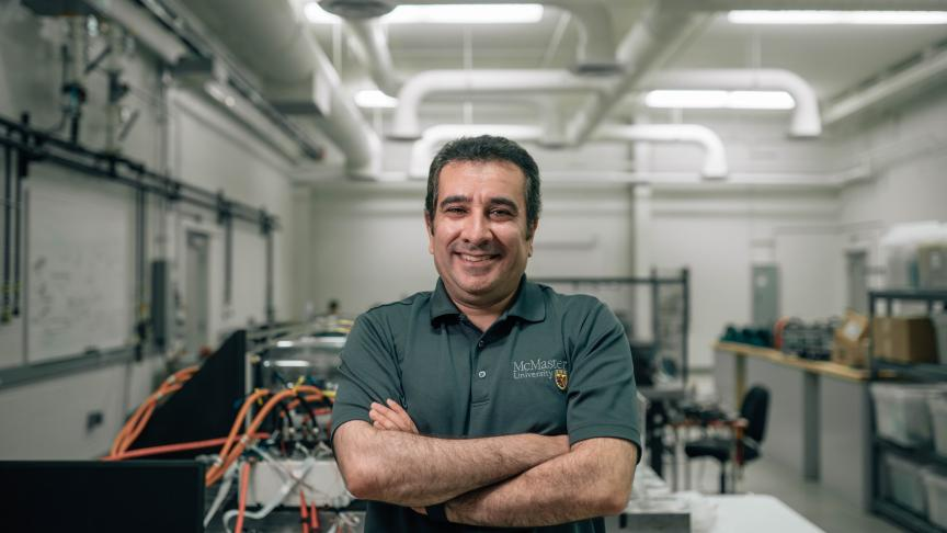 McMaster\'s leading hybrid electric vehicle research