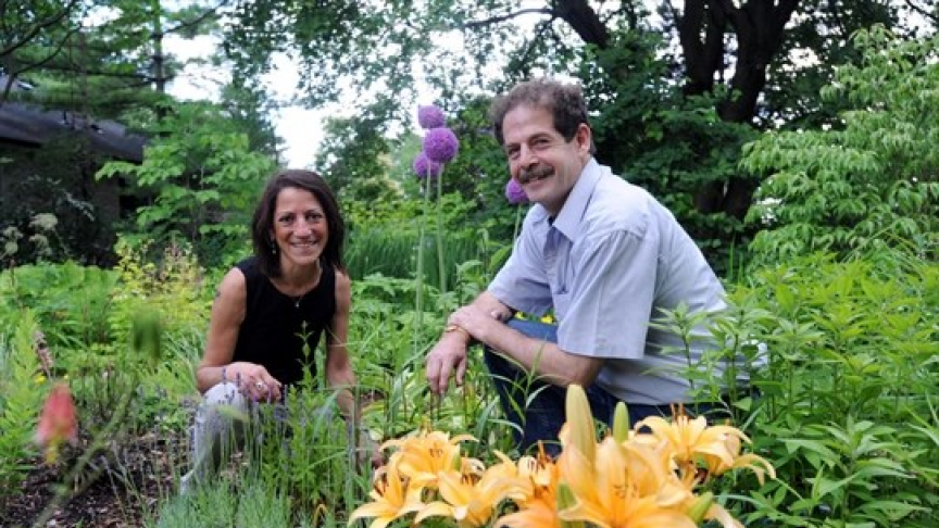 Faculty member's gardening webinars help others explore the outdoors safely