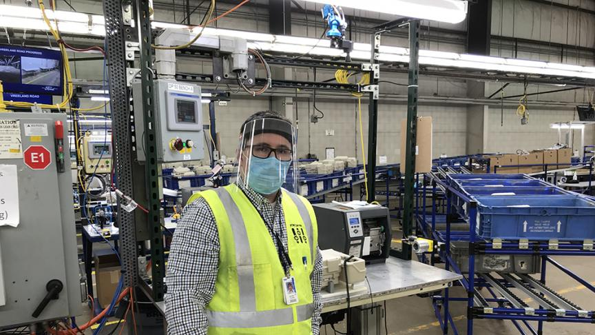 McMaster alumnus helps Ford produce powered air-purifying respirators for health care workers