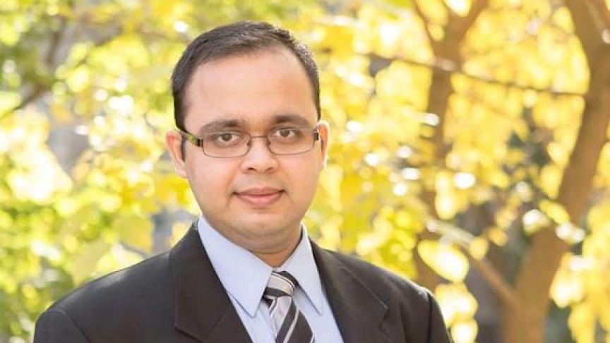 Bhavin Shukla, B.Tech. '14 & M.Eng. '15
