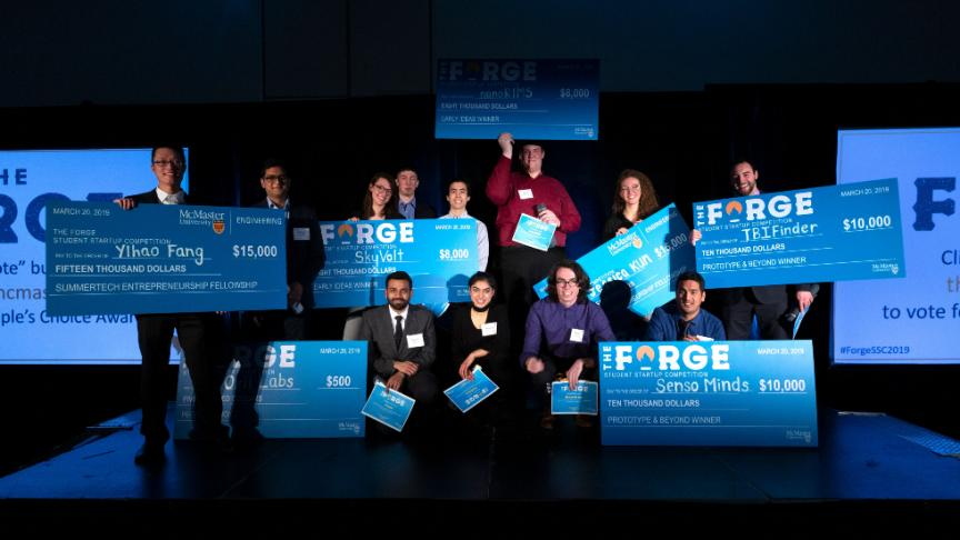 The Forge McMaster announces $100K Student Startup Competition winners