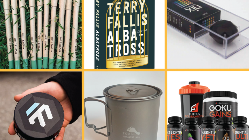 Eight holiday gift ideas created by McMaster Engineering alumni