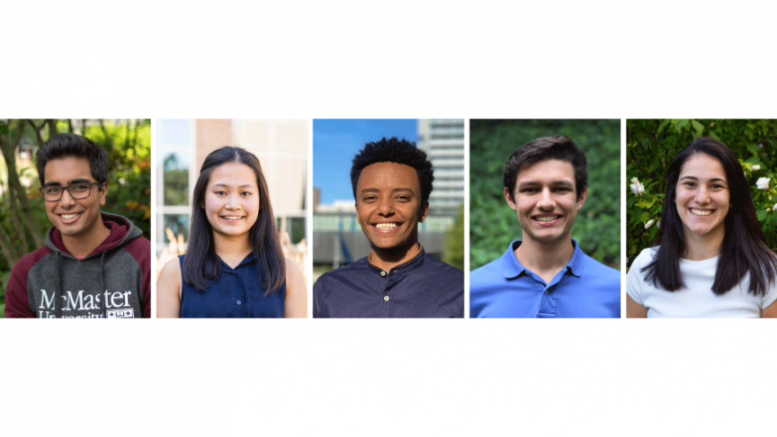 Five Mac Eng students share their summer research experiences