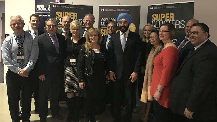 McMaster and Hamilton partners in successful Supercluster bid
