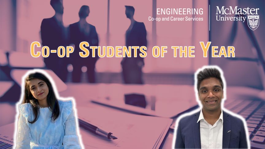 Introducing the 2020 co-op students of the year and future leaders