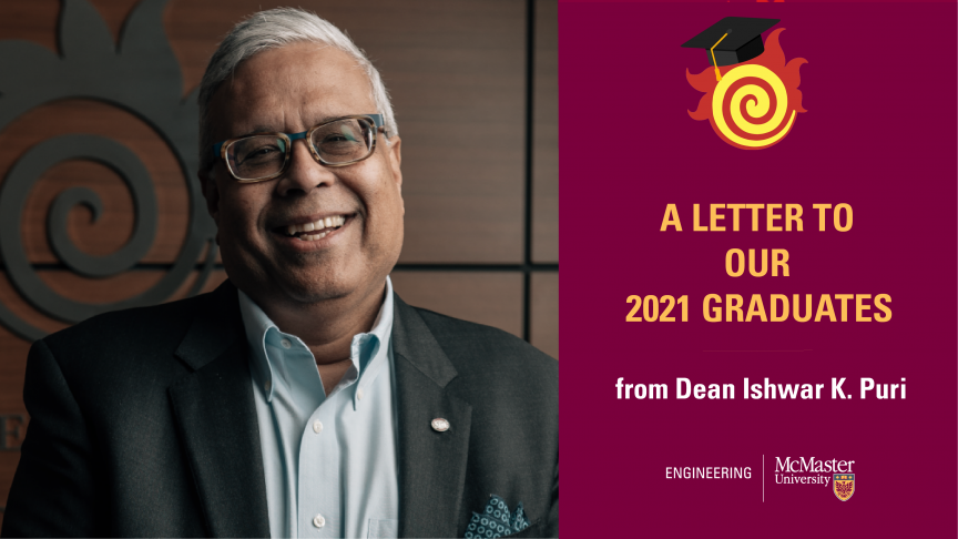 A Letter to the Class of 2021
