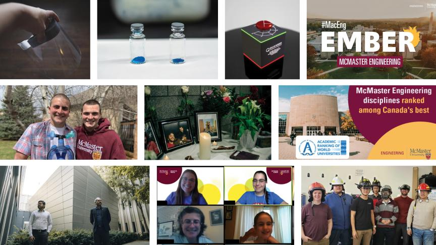 Top 10 McMaster Engineering stories to remember from 2020