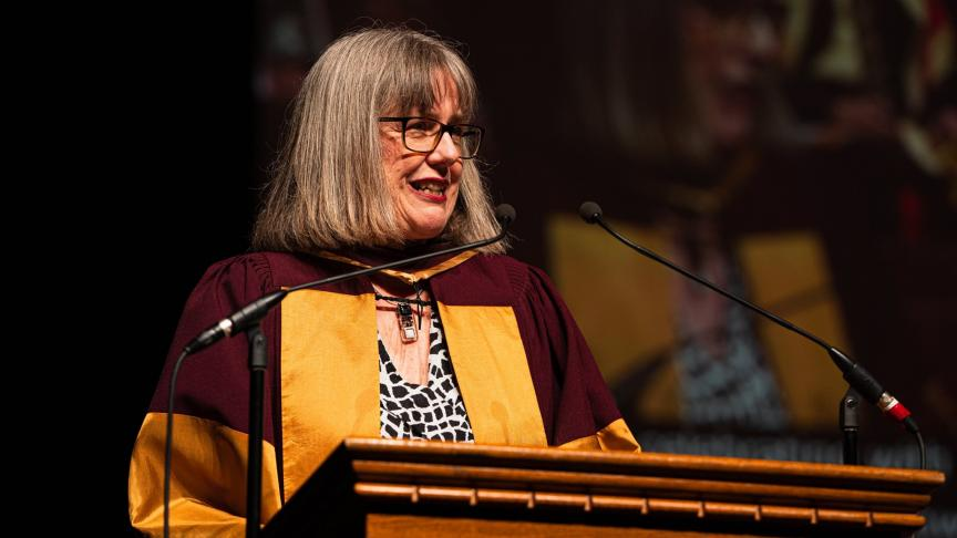 Donna Strickland honorary doctoral degree address