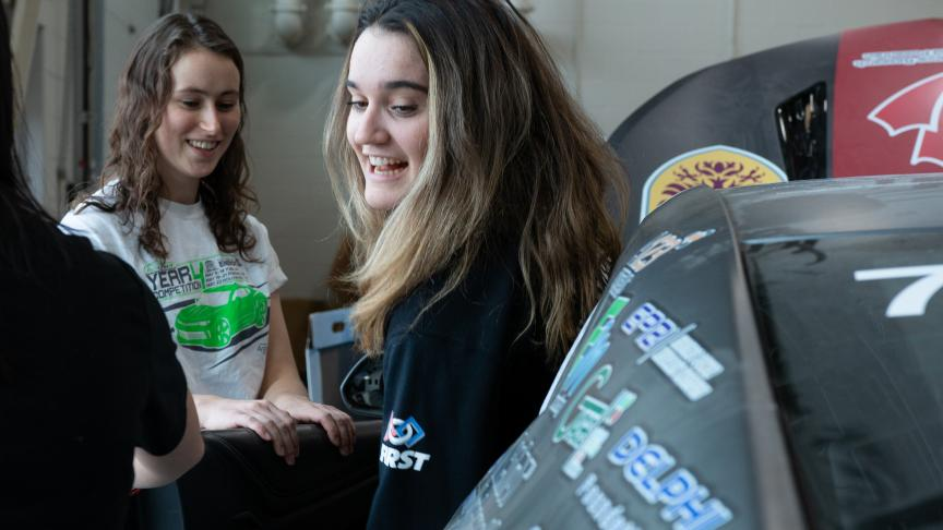 Driving Diversity event inspires the next generation of female automotive engineers