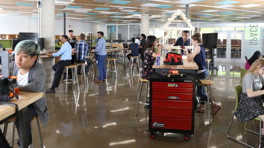 New Thode Makerspace offers students a place to play, collaborate and innovate