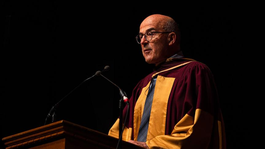 Michel Rappaz honorary doctoral degree address