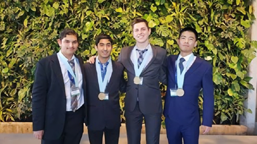 iBioMed students secure gold in UTSC Scinapse Undergraduate Science Case Competition: What the Frack is this?
