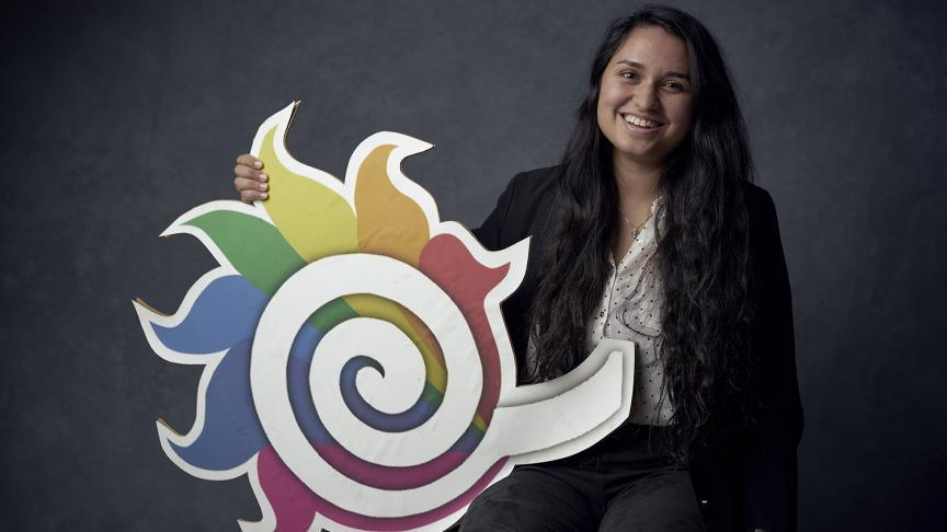 Student champion of diversity wins national engineering award