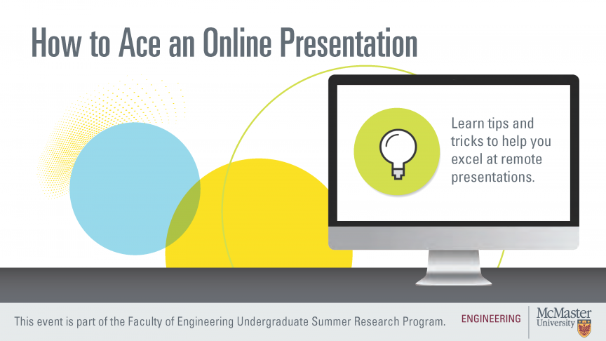 How to Ace an Online Presentation