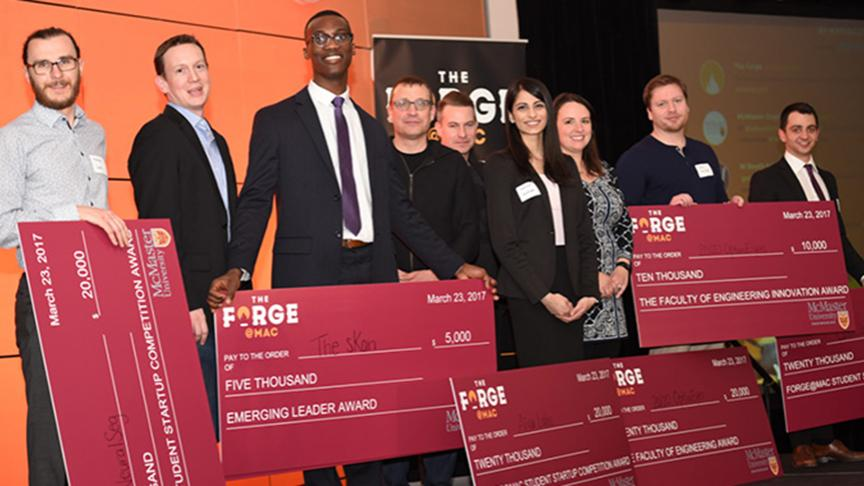 Congratulations to Alex Ianovski, who is one of the winners of McMaster's 2017 Forge Student Startup Competition.