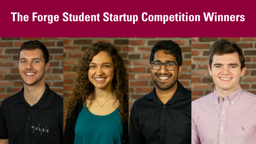 The Forge Student Startup Competition awards 9 McMaster Engineering startups