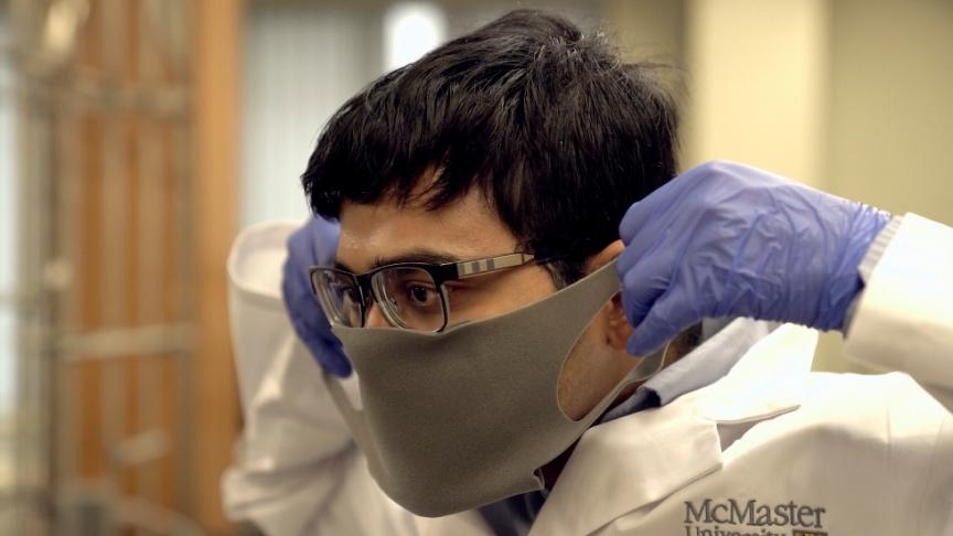 McMaster researchers rally to help Canadian company expedite new mask to meet urgent COVID-19 demand