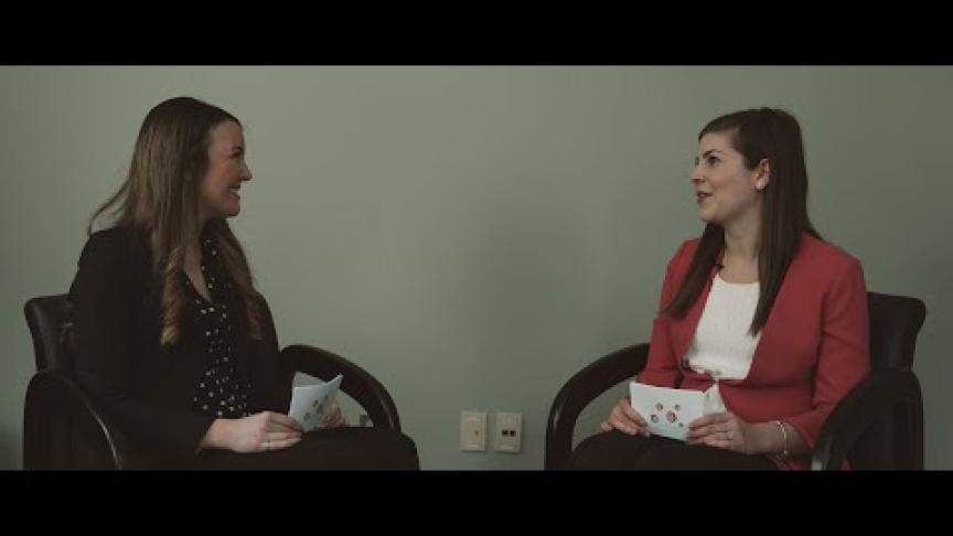 Embedded thumbnail for International Women's Day: Kathryn Grandfield and Amanda Clifford