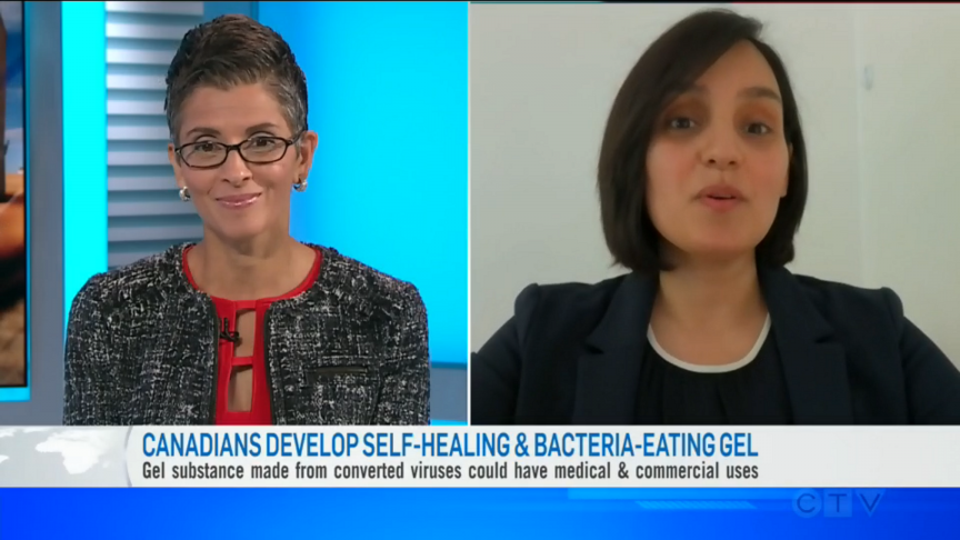 Canadians Develop Self-Healing & Bacteria-Eating Gel