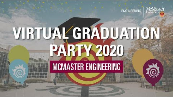 Embedded thumbnail for McMaster Engineering fetes grads with unique virtual celebration