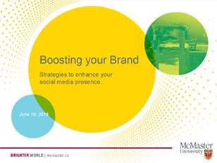 Boosting Your Brand