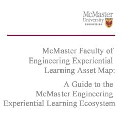 A Guide to the McMaster Engineering Experiential Learning Ecosystem