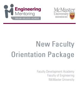 New Faculty Orientation Package