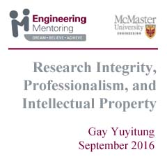 Research Integrity, Professionalism, and International Property
